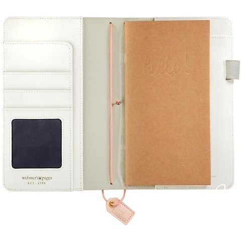 Journal Color Blush Stripe Planner Webster Pages en internet
