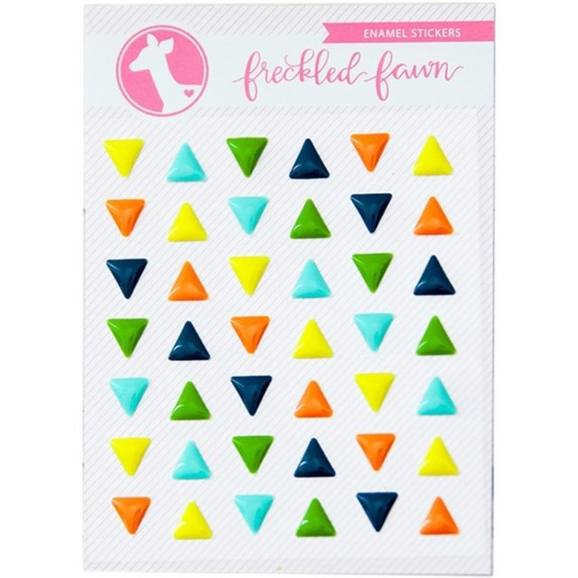 Enamel Triangles Autoadhesivos Freckled Fawn - comprar online