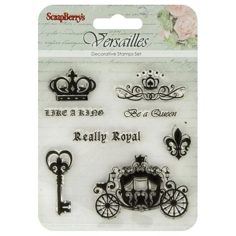 Sellos Like A King Clear Stamp Scrapberrys