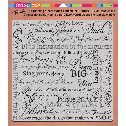 Sello Dream Cling Stamp Stampendous - comprar online