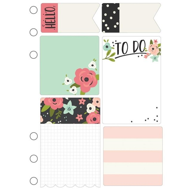 KIT DE PADS DE NOTAS AUTOADHESIVAS CARPE DIEM BLOOM