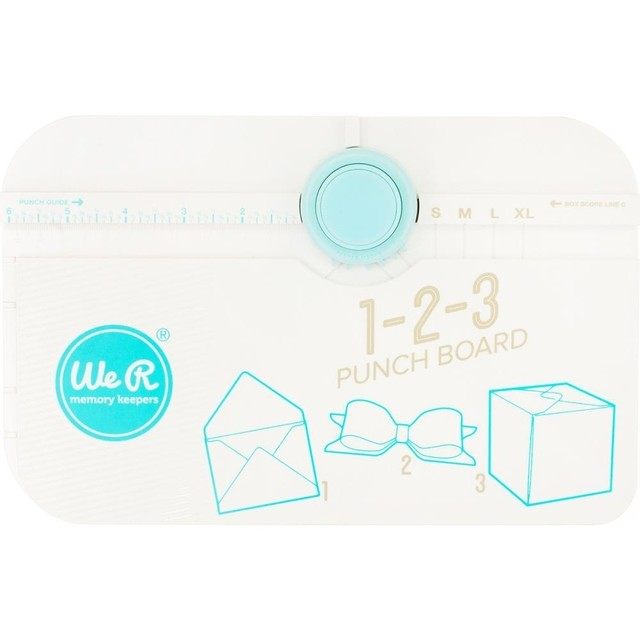 Tablero 1-2-3 Punch Board We R Memory Keepers. - comprar online