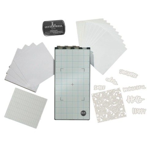 KIT PARA HACER LETTERPRESS WE R MEMORY KEEPERS