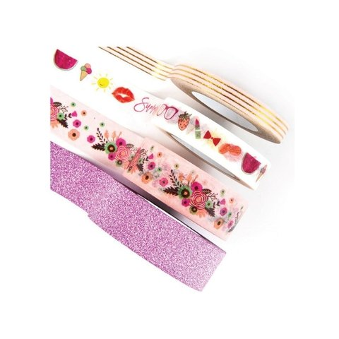 Set de 4 Cintas Decorativas Washi Tape Good Vibes Prima Marketing - comprar online