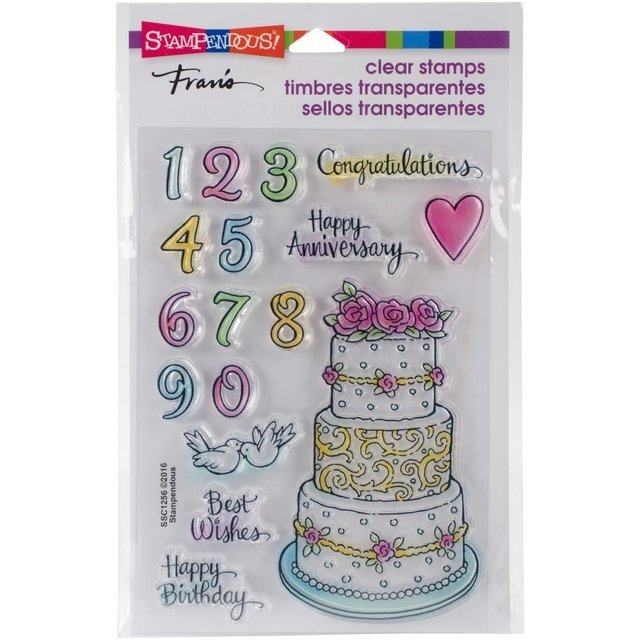 Sellos Cake Tiers Stampendous - comprar online
