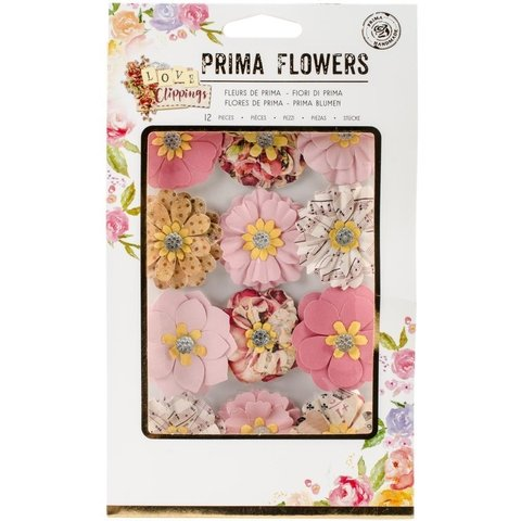 Set de 12 flores My Dearest Prima Marketing - comprar online