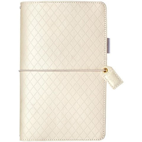 Journal Color Diamond White Planner Webster Pages