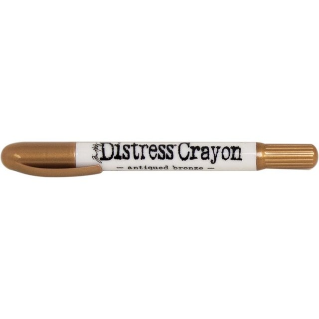 Crayon Distress Metalizados Antique Bronze