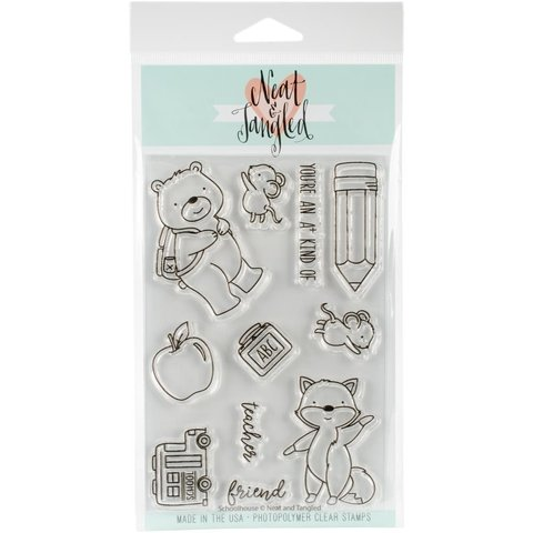 Kit de sellos y Troqueles Schoolhouse Neat & Tangled
