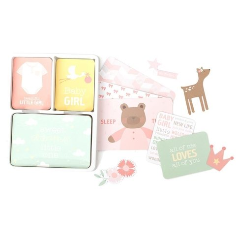 KIT DE 120 TARJETAS PARA PROJECT LIFE BECKY HIGGINS LULLABY GIRL en internet
