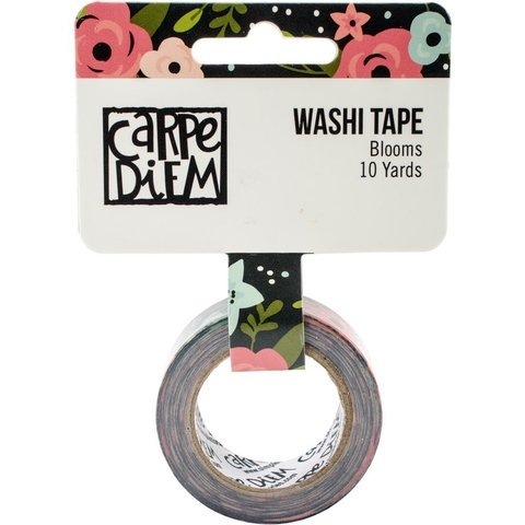 Cinta Decorativa Washi Tape Blooms Carpe Diem