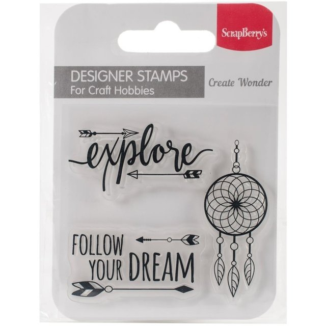 Sellos Follow Your Dreams Clear Stamp Scrapberrys - comprar online