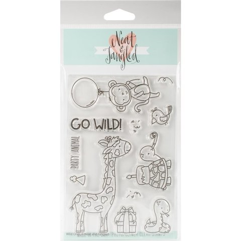Sellos Wild Ones Neat & Tangled