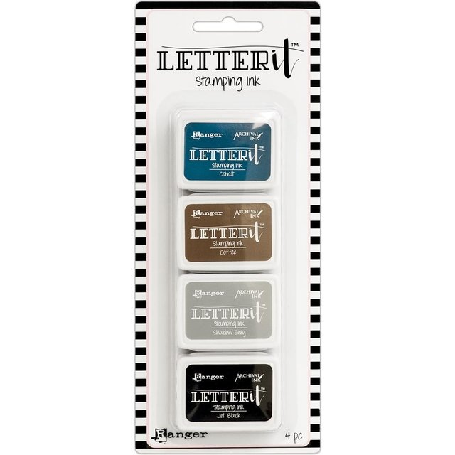 Kit de Mini Tintas Letter It Ink Set #1 - comprar online