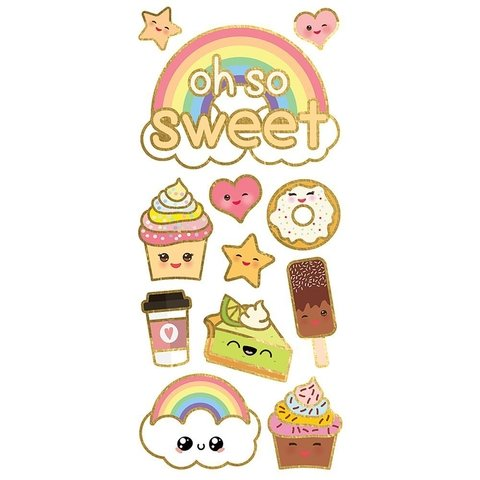 Plancha de Stickers Kawaii, Oh so Sweet Paper House