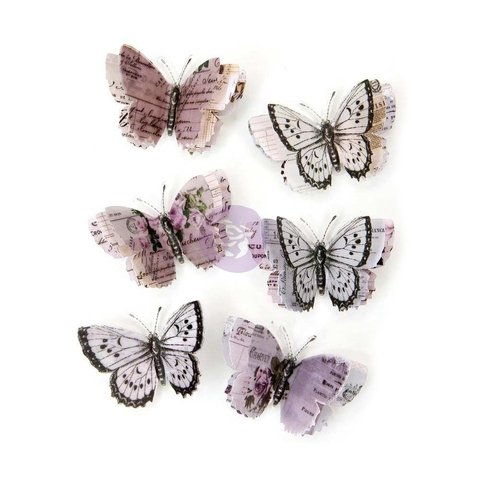 Set de Mariposas Lavender Aislinne Prima Marketing