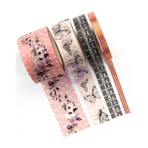 Set de 4 Cintas Decorativas Washi Tape Cherry Blossom Prima Marketing - comprar online