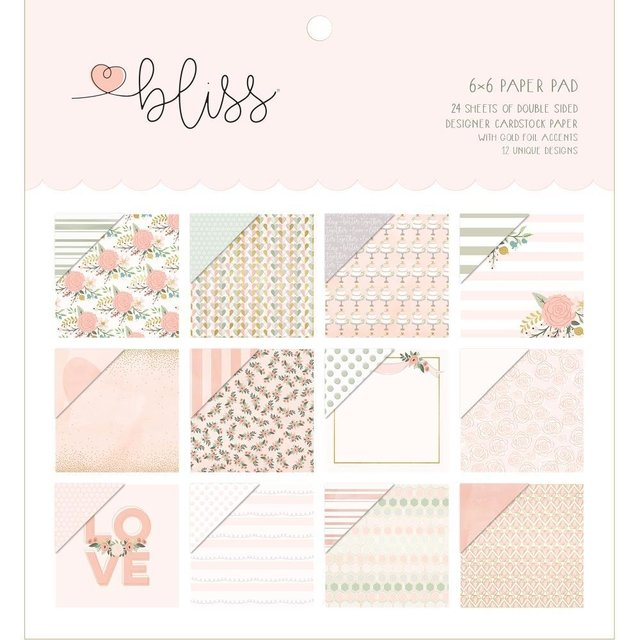 Block Papel Para Scrap 15 x 15 Bliss My Minds Eye - comprar online