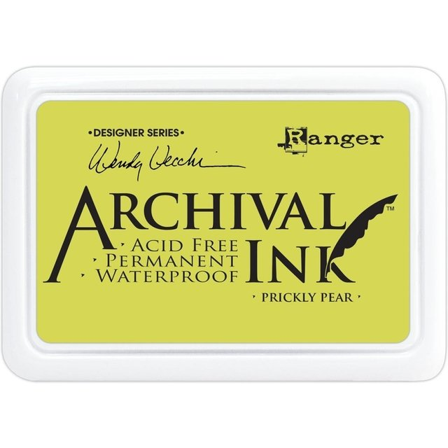 Almohadilla de Tinta Ranger Archival Ink Color Prickly Pear