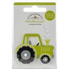 Sticker tridimensional Trusty Tractor Doodlebug