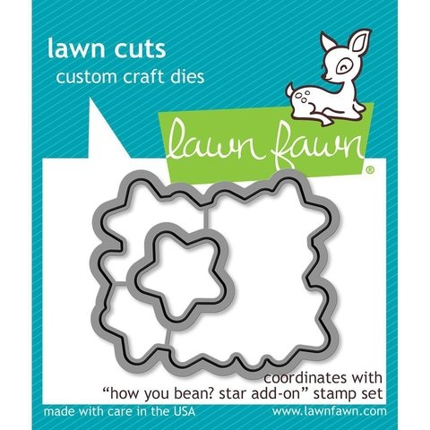 Kit de Troqueles y Sellos How You Bean? Stars Lawn Fawn - comprar online