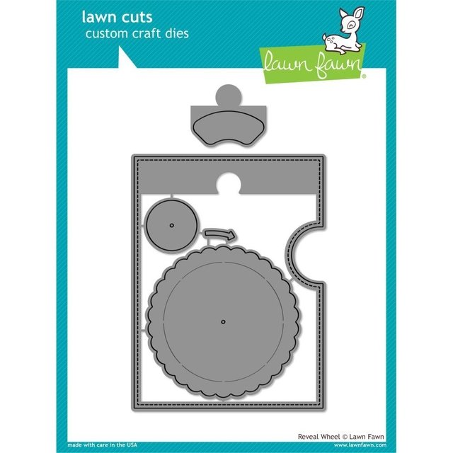 Kit de Troqueles y Sellos Reveal Wheel Lawn Fawn - comprar online