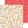 Papel bi-faz Circus Treats 31 x 31cm Pebbles