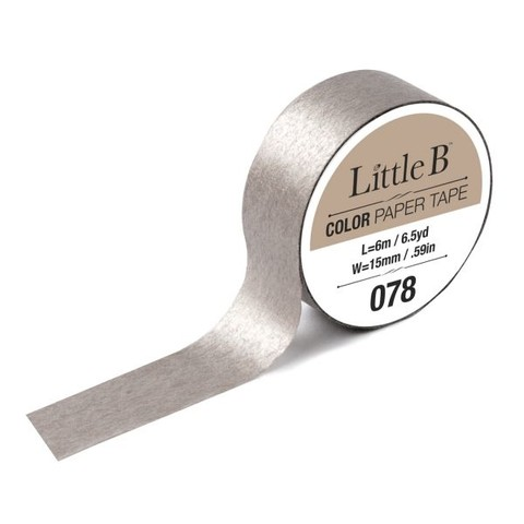 Cinta Decorativa Washi Tape Color Champagne Little B
