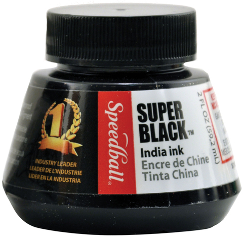 TINTA CHINA NEGRA SUPER BLACK SPEEDBALL 59.2 ml