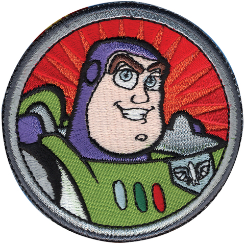 PARCHE BORDADO PARA LA ROPA TOY STORY BUZZ LIGHTYEAR ORIGINAL DISNEY