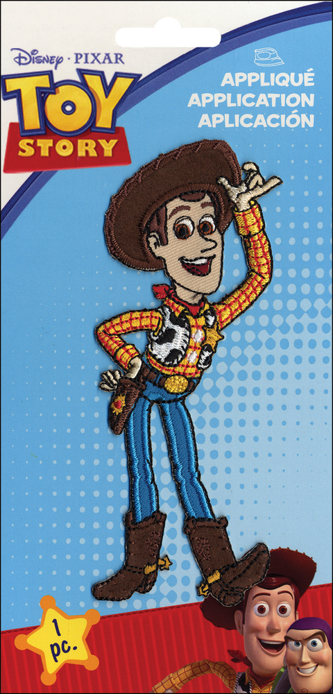 PARCHE BORDADO PARA LA ROPA TOY STORY WOODY ORIGINAL DISNEY