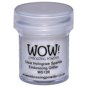 Polvo para embossing Clear Hologram Sparkle Wow!