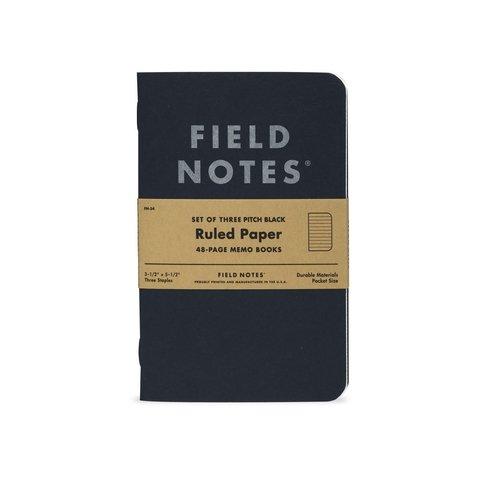 Pack de 3 Mini Cuadernos de 48 paginas Field Notes - comprar online