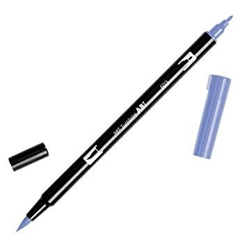 Rotulador punta pincel Tombow Dual Brush 603 Periwinkle