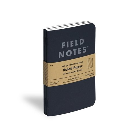 Pack de 3 Mini Cuadernos de 48 paginas Field Notes en internet