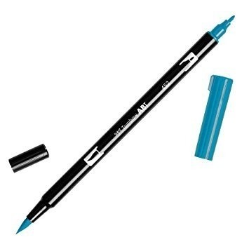 Rotulador punta pincel Tombow Dual Brush 452 Process Blue