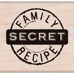 Sello FAMILY SECRET RECIPE Hero Arts - comprar online