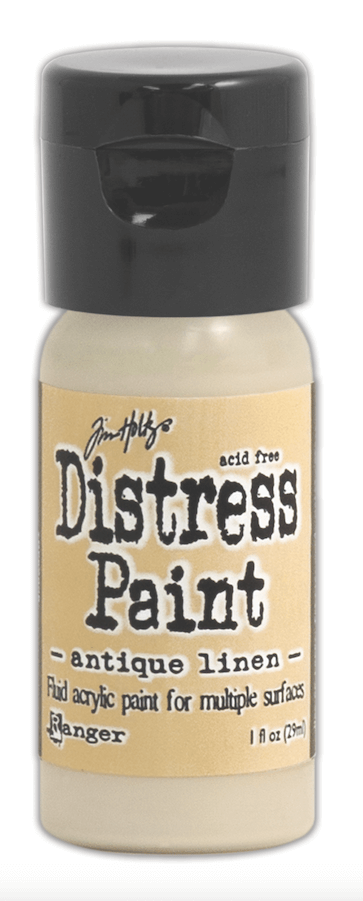 Pintura Acrílica Distress Paint Color Antique Linen