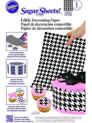 Papel De Decoración Comestible Tweed Wilton