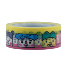 Cinta Decorativa Washi Tape To-Fu Zoo anme12 - comprar online
