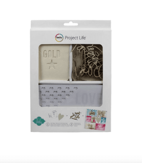 PROJECT LIFE KIT DE 60 PIEZAS HEIDI SWAPP COLOR MAGIC