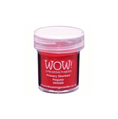 Polvo para embossing Primary Sherbert Regular Wow!