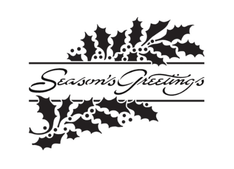 Carpeta Texturizadora Embossing Seasons Greetings Dreamweaver  - comprar online