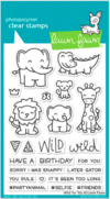 Sellos Wild for you Clear Stamps Lawn Fawn