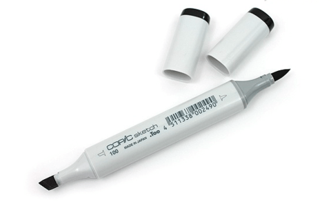 MARCADOR COPIC SKETCH 100-S BLACK - comprar online