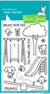 Kit de sellos y troqueles Let's Play  Clear Stamp Lawn Fawn - comprar online