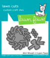 Troquel Lawn Fawn MINI WREATH