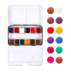 Caja de 12 colores de acuarelas Odyssey Watercolor Pans Prima Marketing
