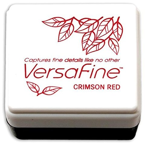 Almohadilla de Tinta Versafine Color Crimson Red