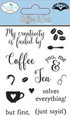 Sellos de frases Coffee & Tea Clear Stamp Elizabeth - comprar online